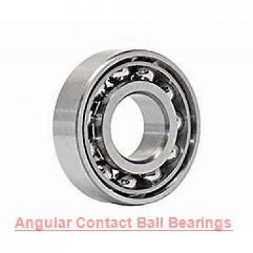 12 mm x 21 mm x 7 mm  FAG 3801-B-2RSR-TVH angular contact ball bearings