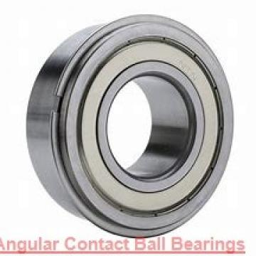 45 mm x 75 mm x 16 mm  NACHI 7009 angular contact ball bearings