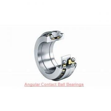 40 mm x 72 mm x 37 mm  PFI PW40720037CS angular contact ball bearings